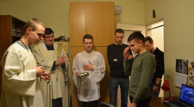 Kolęda w Domu Fundacji Jana Pawła II