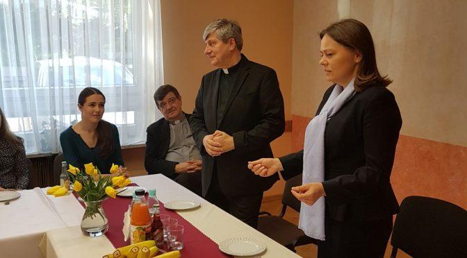 Goście w Domu Fundacji Jana Pawła II