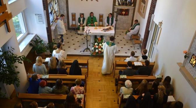 Inauguracja roku akademickiego 2015/2016 w Domu Fundacji Jana Pawła II