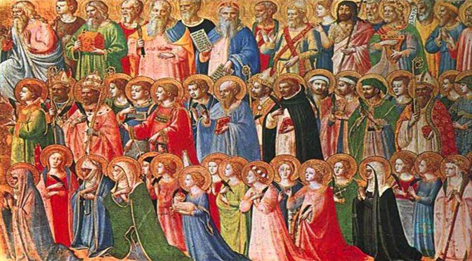 1 listopada – Uroczystość Wszystkich Świętych
