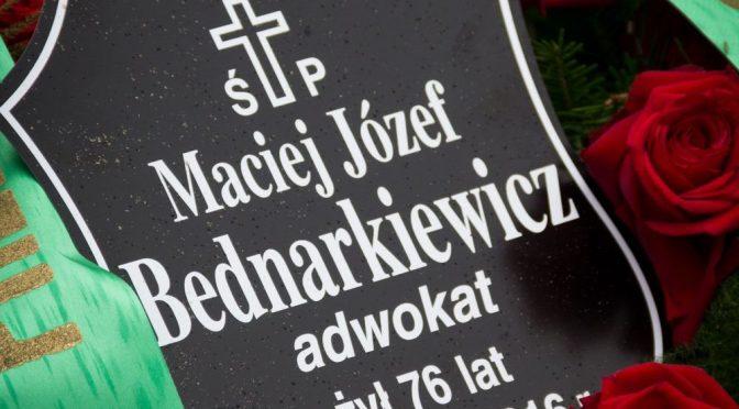 Do zobaczenia w niebie, Panie Mecenasie!