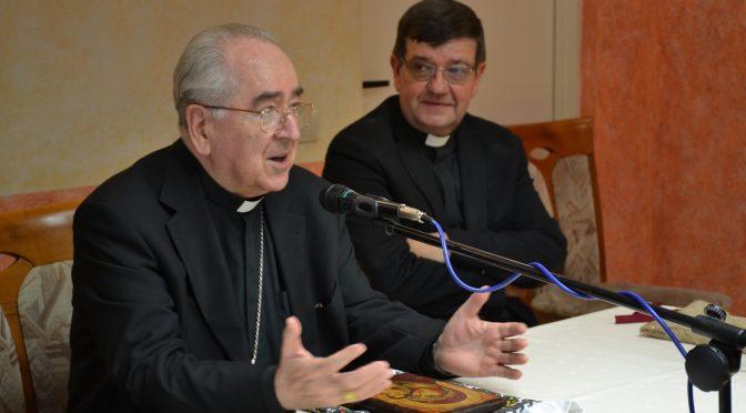 Ksiądz Kardynał Stanisław Ryłko w Domu Fundacji Jana Pawła II