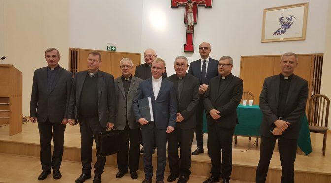 Obrona doktoratu ks. Jerzego Biegańskiego