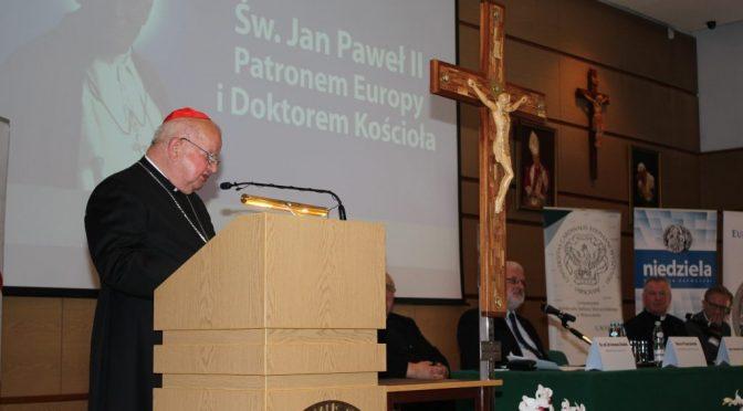 Św. Jan Paweł II doktorem Kościoła i patronem Europy