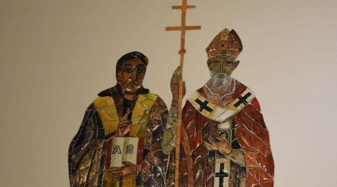 Święci Cyryl i Metody – patronowie kaplicy fundacyjnej
