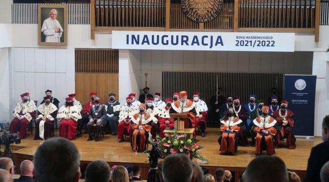 Inauguracja roku akademickiego na Katolickim Uniwersytecie Lubelskim